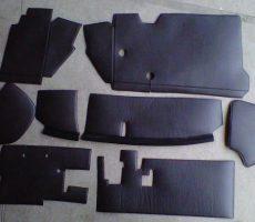 Kit Insonorisant 8 pces 2CV 70sup
