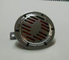 KLAXON 12V . CHROMER