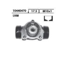 Cylindre de roue ARR LHM Diam 10, sup 08/1978