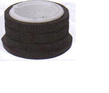 Bague caoutchouc + plastiquedu fourreau de colonne de direction