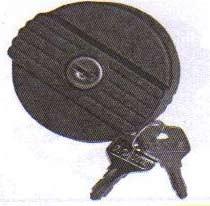 Bouchon du réservoir d'essence à clés