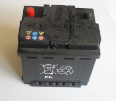 Batterie 12 V avec acide