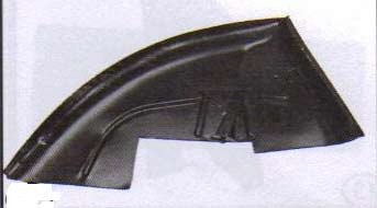 Intérieur d'aile ARR 2cv Gauche