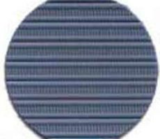 Capote 2cv à fermetures extérieures bleu azurite