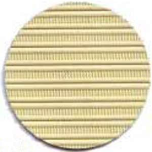 Capote 2cv à fermetures intérieures jaune rialto