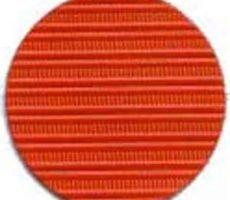 Capote 2cv à fermetures intérieures orange