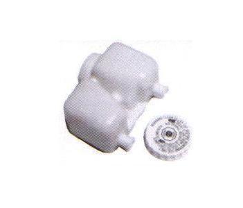Bocal plastique pour maître cylindre double circuit