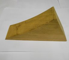 cale en bois massif 2cv